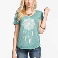 O'neill Catchindreams Womens Tee Lagoon  In Sizes