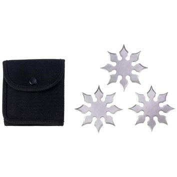 Maxam® 4pc Throwing Star Set