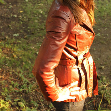 Leather Burgundy Jacket   Wilson's Leather WOMEN by SucreSucre