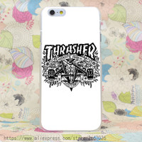 Thrasher Skate iPhone Case 5,5s,SE,6,6S,6+,7,7+ Skateboarding Magazine
