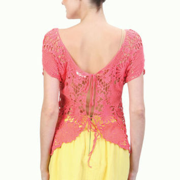 Paint it Lace Top - Online Women Store - Tulle4Us.com
