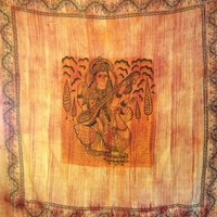 Stonewashed Saraswati Tapestry  - Mellow Mood