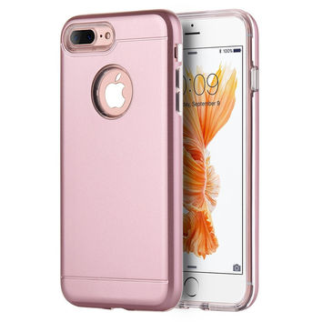 iPhone 7 PLUS Tough Rose Gold Case