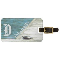 Snapper Turtle Dock Bag Tag