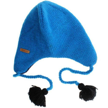 Sesame Street Grover Adult Wool Pilot Hat with Ear Flaps