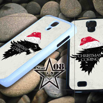 Christmas Is Coming Dire Wolf Winter iPhone Case, iPhone 4/4S, 5/5S, 5c, Samsung S3, S4 Case, Hard Plastic and Rubber Case By Dsign Star 08