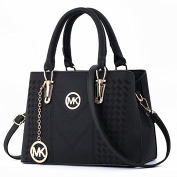 MK 2018 Summer Tide New Fashion Women's Bag Crossbody Shoulder Tote F0504-1 black