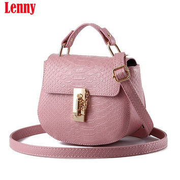 017 Handbag Phone Purse Women Small Bag Imperial Crown PU Leather Women Shoulder Bag Small Shell Cross body Bag H28