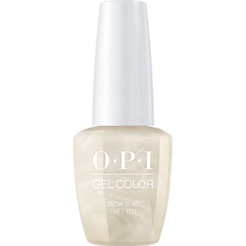 OPI GelColor - Snow Glad I Met You 0.5 oz - #HPJ01