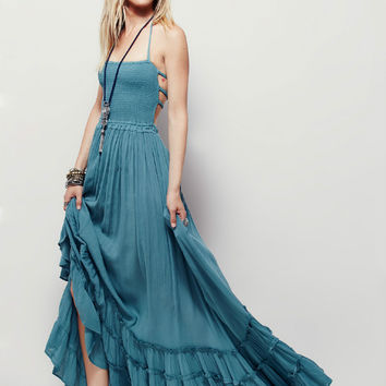 Bohemia Beach Hot Sale Women's Fashion Cotton Prom Dress [10333001357]