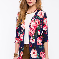 Everly Floral Cardigan