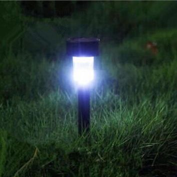 Hot Sale Fashion Solar Light Lawn LED Light High Quality Outdoor Lights Lawn Garden Landscape Path Stake Spot Lamp Drop Shipping