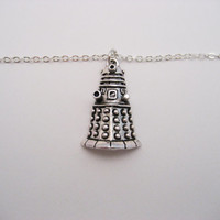 Dalek Bracelet Doctor Who Bracelet Alien Bracelet Whovian Gifts Under 20 Doctor Who Jewelry Dalek Jewelry Exterminate