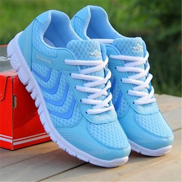 Women casual shoes fashion breathable casual women canvas shoes