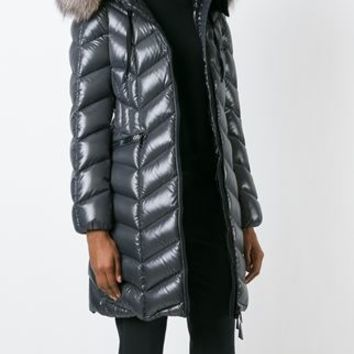 Moncler 'bellette' Padded Coat - Luisa World - Farfetch.com
