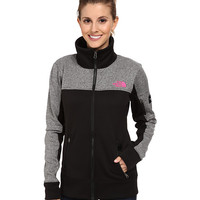 The North Face Mayzie Full-Zip TNF Black/Heather Grey - 6pm.com
