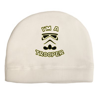 I'm A Trooper Adult Fleece Beanie Cap Hat