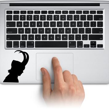 Loki Vinyl Logo Sticker for Car Windows Room Laptop Skin and More  Made in US (Message for Color and size)
