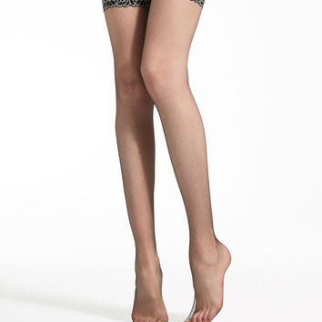 13 denier stockings, black - PARIGI Max Mara