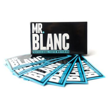 Mr. Blanc Teeth Whitening Strips - 28 Strips