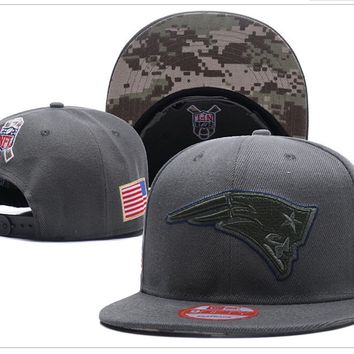 New England Patriots New Era Salute To Service 9Fify Flat Brim Hats