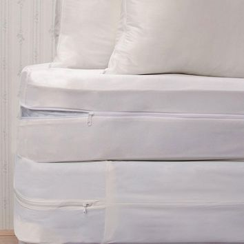 Royal Heritage Home 4-pc. Bedding Protector Set (White)