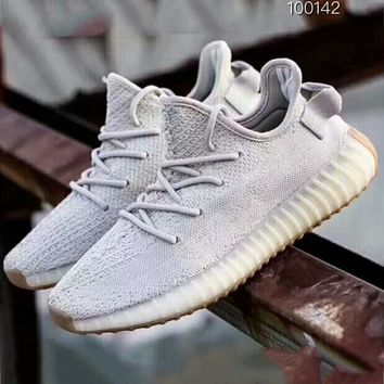 ADIDAS YEEZY 350 V2 BOOST couple models breathable low basketball shoes F-A50-XYZ