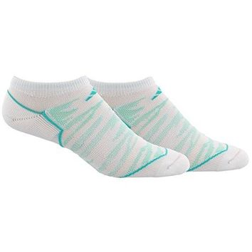 adidas Womens Superlite Speed Mesh No Show Socks 2 Pack