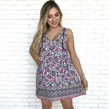 Always On My Mind Print Dress