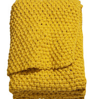 Moss-knit Blanket - from H&M