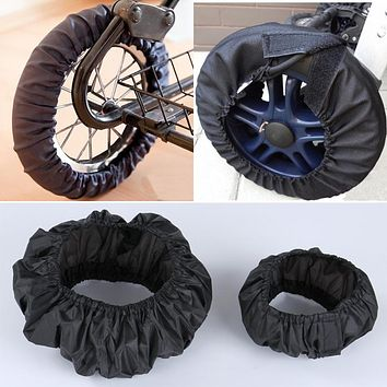 Baby Pram Accessories Stroller Wheel Anti-Dirty Case Fabric Protection Cover