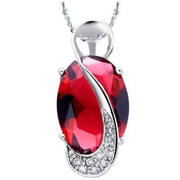 Silver 925 Crystal Pendant = 5839507649