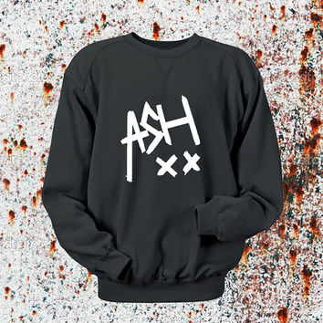 Ashton Irwin signature Sweater Black, Blue, Gray, Orange, Red, and Yellow Sweatshirt Crewneck Men or Women Unisex Size