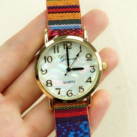 Bohemian Ethnic Style Ladies Watch for Women