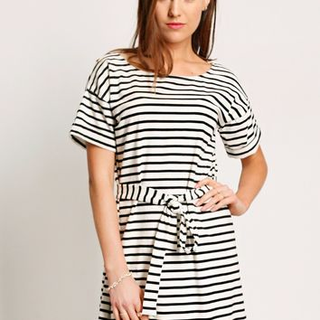 Winchester Striped Dress | Ruche