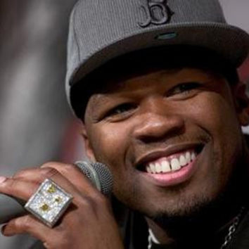 50 Cent Hz Microphone Poster 11x17 Mini Poster