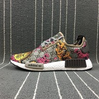 Gucci X Adidas Customise Nmd R1 Boost Sport Running Shoes - Beauty Ticks
