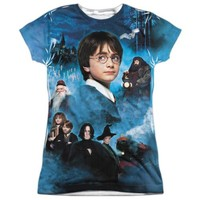 Harry Potter First Year Sublimation Junior T Shirt
