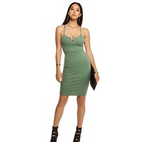 Olive V Bar Night Midi