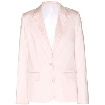 acne studios - cindy tux cotton blazer