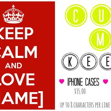 PERSONALIZED Keep Calm Products! by Abigail Ann | Society6