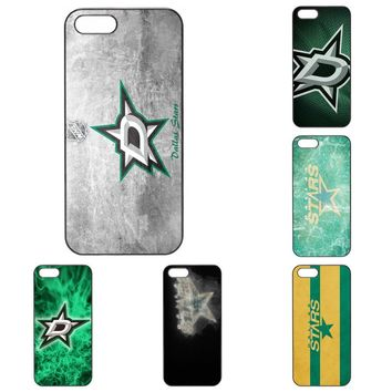 Salvestro Cell Cover Case For Apple iPhone 4 4S 5 5C 5S SE 6 6S 7 8 Plus X iPod Touch 4 5 6 Logo For Dallas Stars Nhl