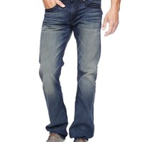 True Religion Ricky Straight Midnight Ropestitch Mens Jean - Bypass