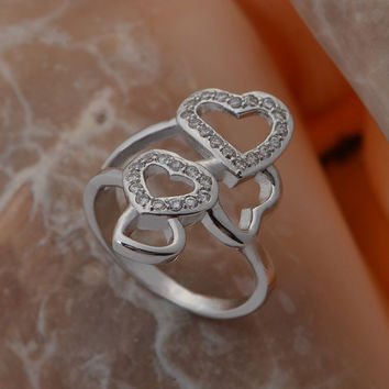 Gift New Arrival Shiny Stylish 925 Jewelry Fashion Ring [7495441095]