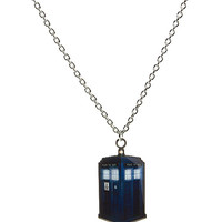 "Doctor Who TARDIS 18"" Necklace"