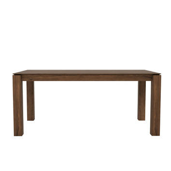 Ethnicraft Walnut Slice Extendable Dining Table
