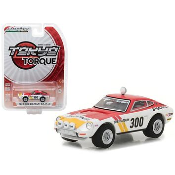 1973 Datsun Baja Z #300 Brock Racing Enterprises (BRE) Peter Brock Tokyo Torque Series 1 1/64 Diecast Model Car by Greenlight