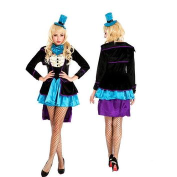 LMFON cosplay role playing game clothing Halloween magic circus animal trainer [8978979463]