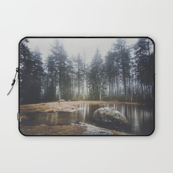 Moody mornings Laptop Sleeve by happymelvin