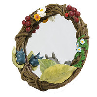 Studio Ghibli My Neighbor Totoro Wreath Mirror